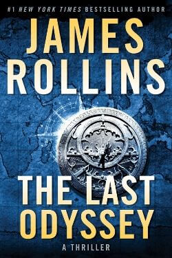 book cover The Last Odyssey by James Rollins