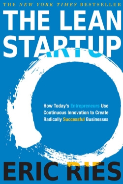 book cover The Lean Startup by Eric Ries