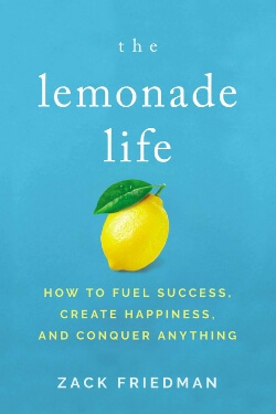 book cover The Lemonade Life by Zack Friedman
