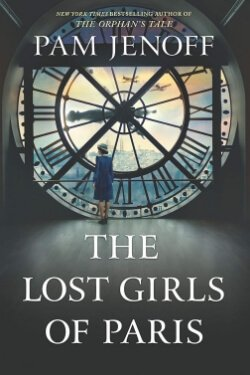 book cover The Lost Girls of Paris by Pam Jenoff