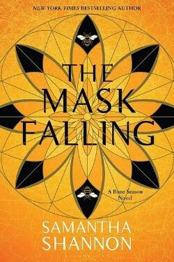 book cover The Mask Falling by Samantha Shannon