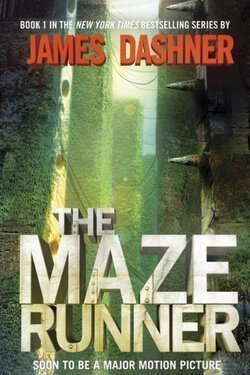 book cover The Maze Runner by James Dashner