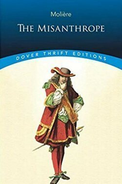 book cover The Misanthrope by Moliere