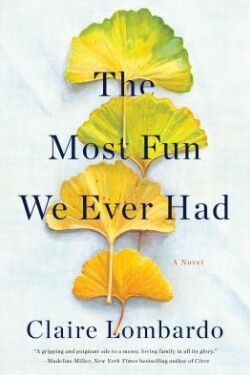 book cover The Most Fun We Ever Had by Claire Lombardo