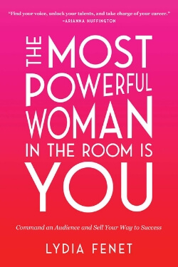 book cover The Most Powerful Woman in the Room is You by Lydia Fenet