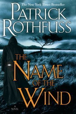 book cover The Name of the Wind by Patrick Rothfuss