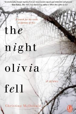 book cover The Night Olivia Fell by Christina McDonald
