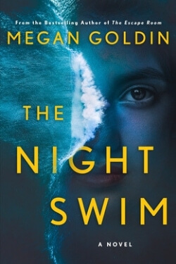 book cover The Night Swim by Megan Goldin