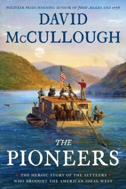 Book cover for The Pioneers by David McCullough
