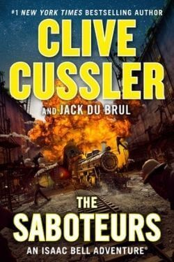 book cover The Saboteurs by Clive Cussler and Jack Du Brul