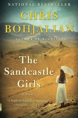 book cover The Sandcastle Girls by Chris Bohjalian