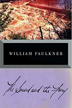 book cover The Sound and the Fury by William Faulkner