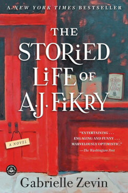 book cover The Storied Life of A. J. Fikry by Gabrielle Zevin