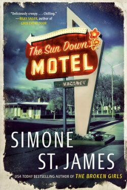 book cover The Sun Down Motel by Simone St. James