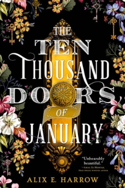 book cover The Ten Thousand Doors of January by Alix E. Harrow