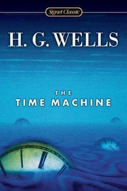 book cover The Time Machine by H. G. Wells