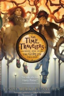 book cover The Time Travelers by Linda Buckley-Archer