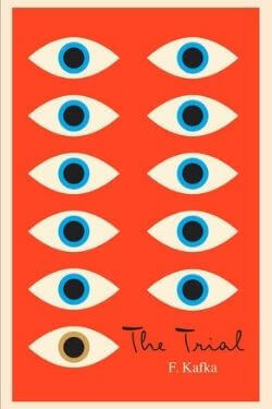 book cover The Trial by Franz Kafka