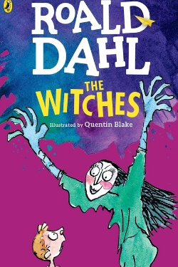 book cover The Witches by Roald Dahl