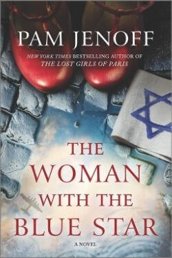 book cover The Woman with the Blue Star by Pam Jenoff