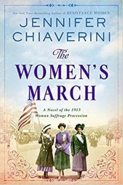 book cover The Women's March by Jennifer Chiaverini