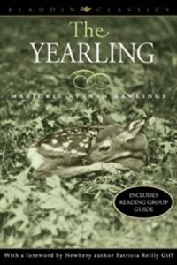 book cover The Yearling by Marjorie K. Rawlings