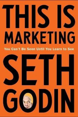 book cover This is Marketing by Seth Godin