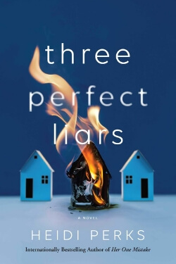 book cover Three Perfect Liars by Heidi Perks