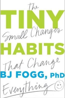 book cover Tiny Habits by B. J. Fogg