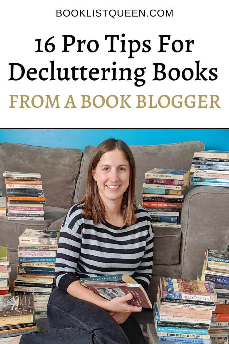 16 Pro Tips for Decluttering Books From a Book Blogger