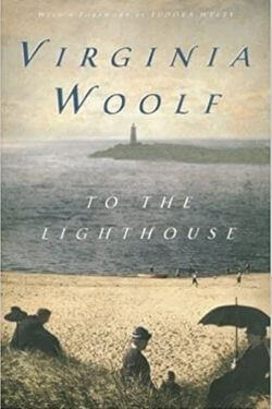 book cover To the Lighthouse by Virginia Woolf
