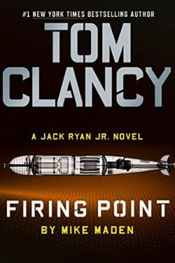 book cover Tom Clancy: Firing Point by Mike Maden
