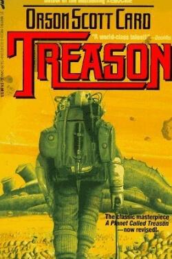 book cover Treason by Orson Scott Card