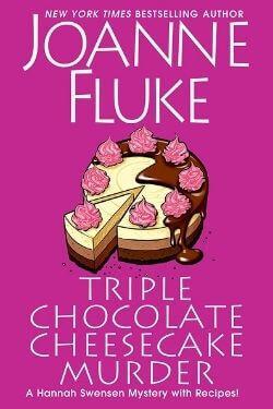 book cover Triple Chocolate Cheesecake Murder by Joanna Fluke