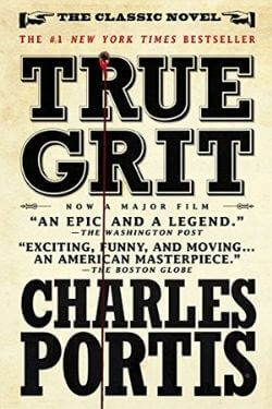book cover True Grit by Charles Portis