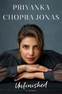 book cover book cover Unfinished by Priyanka Chopra Jonas