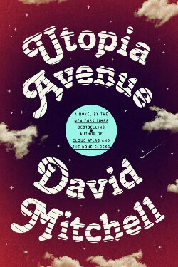 book cover Utopia Avenue by David Mitchell