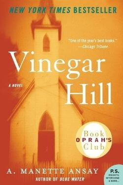 book cover Vinegar Hill by A Manette Ansay