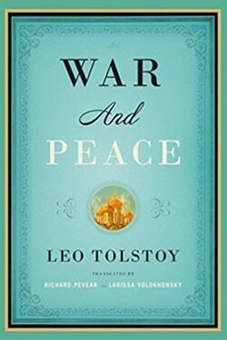 book cover War and Peace by Leo Tolstoy