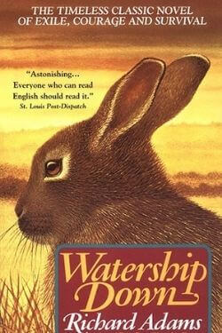 book cover Watership Down by Richard Adams