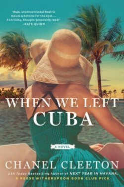 book cover When We Left Cuba by Chanel Cleeton
