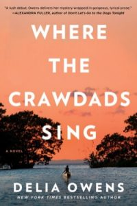 book cover Where the Crawdads Sing by Delia Owens