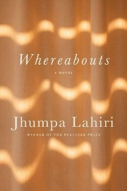 book cover Whereabouts by Jhumpa Lahiri