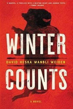 book cover Winter Counts by David Heska Wanbli Weiden
