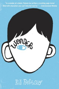 book cover Wonder by R. J. Palacio