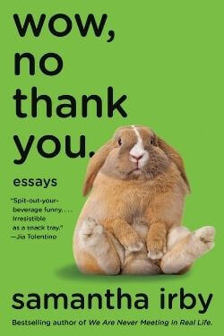 book cover Wow, No Thank You by Samantha Irby