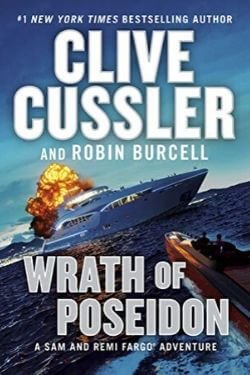 book cover Wrath of Poseidon by Clive Cussler and Robin Burcell