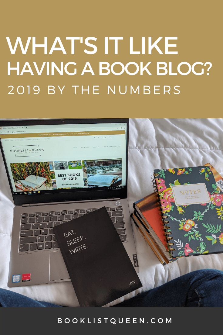 What's It Like Having a Book Blog? 2019 By the Numbers