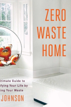 book cover Zero Waste Home by Bea Johnson